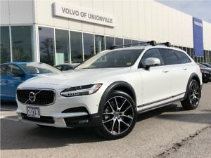 2018 Volvo V90 Cross Country T6 AWD FINANCE FROM 0.9 % O.A.C. !