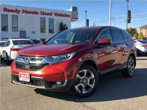 2017 Honda CR-V EX-L  | Leather | Sunroof | Lane Watch