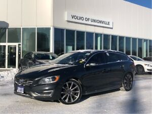 2015 Volvo V60 T6 AWD Premier Plus (2) FINANCE FROM 0.9 % O.A.C.
