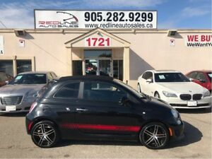 2013 Fiat 500C Abarth, Red Leather Seats, WE APPROVE ALL CREDIT