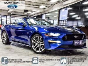 2018 Ford Mustang GT Premium,Active Exhaust,Adaptive Cruise,20Al