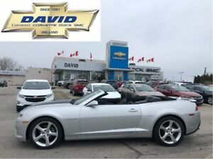 2015 Chevrolet Camaro 2LT/LEATHER/20W/ HUDUP, LOCALTRADE