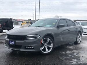 2018 Dodge Charger SXT PLUS**LEATHER**SUNROOF**BACK UP CAM**BLUE