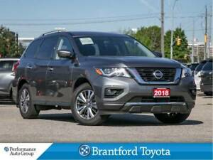 2018 Nissan Pathfinder SL, Navigation, Leather, Sunroof, AWD, Tr
