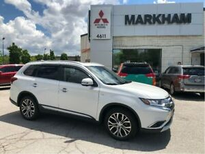 2017 Mitsubishi Outlander GT - SUNROOF|360CAM|LEATHER|CLEAN CARF