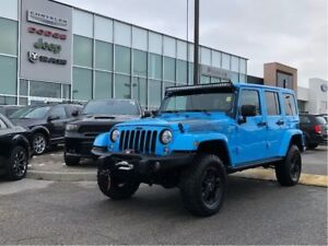 2017 Jeep WRANGLER UNLIMITED Winter PKG, CUSTOM UPGRADES GALORE!