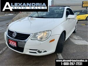 2008 Volkswagen Eos Lux/151km/safety included