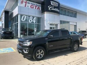 2017 Chevrolet Colorado Crew 4x4 Z71 / Short Box