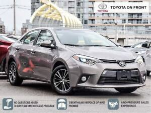 2016 Toyota Corolla LE Upgrade Moonroof Alloys