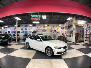 2016 BMW 3 Series 320I XDRIVE SPORT + NAVI PKG AUT0 SUNROOF 85K