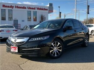 2015 Acura TLX Tech - Leather - Navigation - Rear Camera