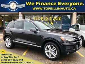 2014 Volkswagen Touareg 3.6L Execline, Navigation, Pano Roof
