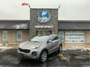 2017 Kia Sportage SHAPR SX TURBO! FINANCING AVAILABLE