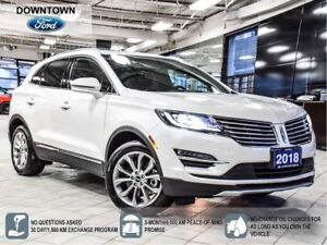 2018 Lincoln MKC Select, Pano roof, Heated Steer, Syn3, Low KM