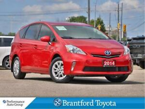 2014 Toyota Prius v Navigation, Leather, Back Up Camera, Trade I