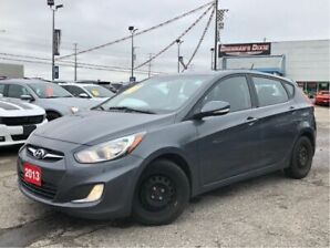 2013 Hyundai Accent Sunroof, BT, HTD Seats, Winter Tires, More
