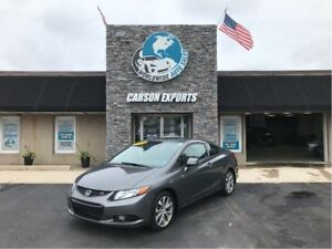 2012 Honda Civic Coupe LOOK 6 SPEED SI! FINANCING AVAILABLE!