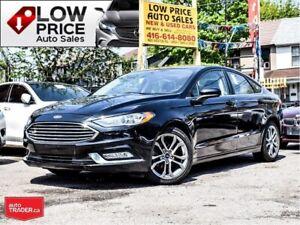 2017 Ford Fusion SE*Leather*Sunroof*Camera*Bluetooth*
