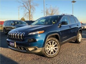 2018 Jeep Cherokee LIMITED**LEATHER**NAV**BLIND SPOT MONITORING*