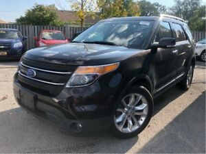2014 Ford Explorer XLT 4x4 LEATHER NAVIGATION SUNROOF 20 WHEELS