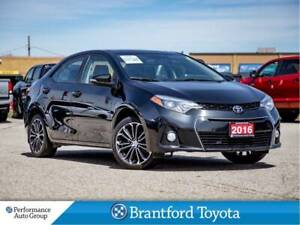 2016 Toyota Corolla S, Tech Pkg, Navigation, Proxy Key Entry