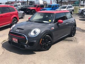 2016 Mini 3 Door JOHN COOPER WORKS**NAV**SUNROOF**LEATHER