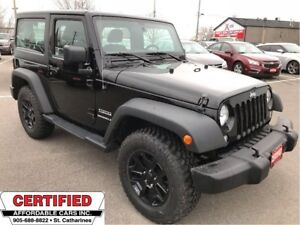 2015 Jeep Wrangler Sport ** NEW A/T TIRES, CRUISE, A/C **