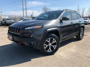 2017 Jeep Cherokee Trailhawk 4x4 Leather Panorama Roof