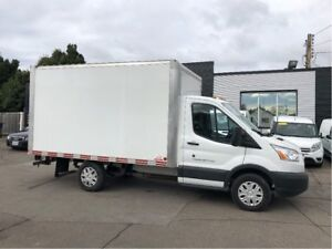 2017 Ford Transit 12ft mini cube fin or lease!