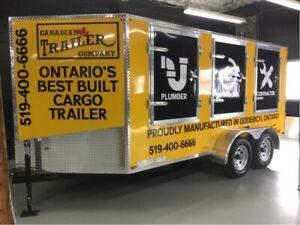 2019 Canada Trailers 7x14 V Nose