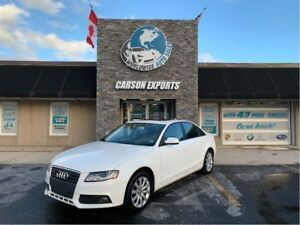 2011 Audi A4 CLEAN 2.0T QUATTRO! FINANCING AVAILABLE!