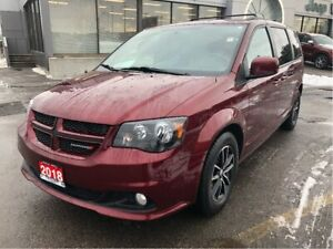 2018 Dodge Grand Caravan GT w/Navi, DVD, Remote Start, Leather H
