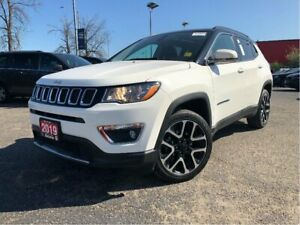 2019 Jeep Compass LIMITED**4X4**LEATHER**TRAILER TOW**8.4 SCREEN