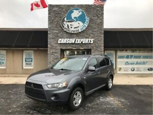 2011 Mitsubishi Outlander LOOK OUTLANDER ES! FINANCING AVAILABLE
