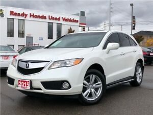 2015 Acura RDX Tech Pkg - Navigation - leather - Sunroof