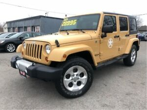 2013 Jeep WRANGLER UNLIMITED Sahara - Trade-in