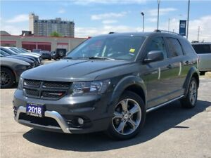 2018 Dodge Journey CROSSROAD**AWD**7 PASS**LEATHER**NAV**SUNROOF