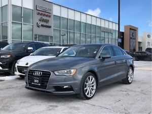 2015 Audi A3 NAVI PWR SUNROOF REAR CAM PWR SEAT HTD SEATS