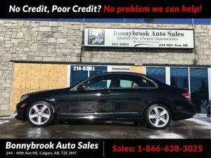 2011 Mercedes Benz C-Class 300 Awd leather bluetooth p/sunroof