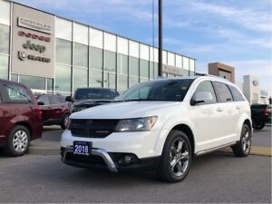 2018 Dodge Journey Crossroad AWD! REDUCED to SELL !