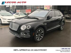 2017 Bentley Bentayga W12/Muliner
