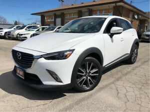 2016 Mazda CX-3 GT AWD Leather Sunroof Back Up Camera