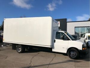 2018 Gmc Savana G3500 16'CUBE 16' cube fin or lease from 5.99%oa