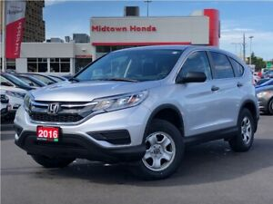 2016 Honda CR-V LX-AWD-NEW TIRES-Clean Carfax-one owner