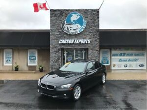 2012 BMW 3 Series LOOK 320I W/6 SPEED! FINANCING AVAILABLE!