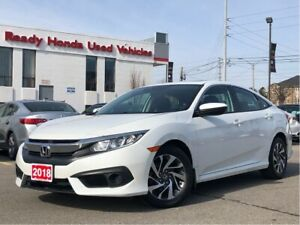 2018 Honda Civic Sedan EX - Lane Watch - Sunroof - Rear Camera