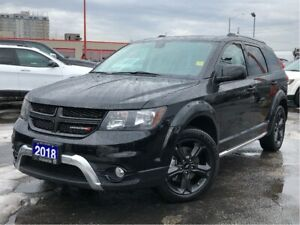 2018 Dodge Journey CROSSROAD**AWD**LEATHER**DVD**NAV**BLUETOOTH*