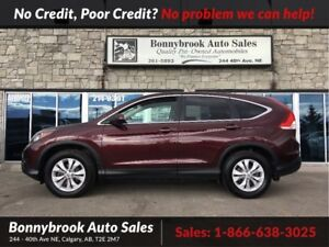 2013 Honda CR-V EX-L AWD LEATHER P/SUNROOF R/V CAMERA