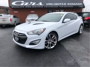 2016 Hyundai Genesis Coupe 3.8L R-Spec | 6 SPEED | LEATHER | 1 O