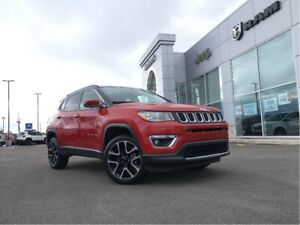 2018 Jeep Compass 4x4 - NAV, TOUCHSCREEN, HEATED LEATHER SEATS
